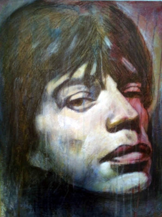 Mick Jagger by Temo
